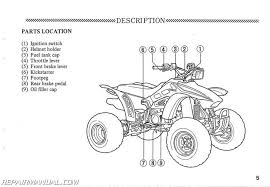 honda trxr fourtrax r atv owners manual repair 1987 honda trx250r fourtrax 250r atv owners manual