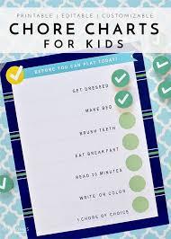 Interactive Chore Chart Printable Chore Charts For Kids Summer Activities And Diys