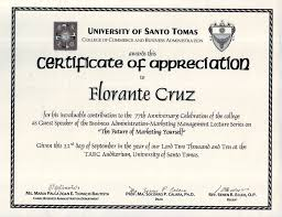 Certificate Of Appreciation Template For Word Magnificent Certificate Of Appreciation To Guest Speaker Beautiful Certificate