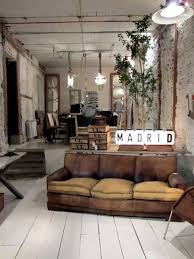 distressed industrial furniture.  distressed distressed industrial living room  there is something very chic yet  masculine about this space for industrial furniture e