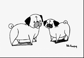 Small Picture Cute Pug Puppy Dog Coloring Pages Womanmatecom