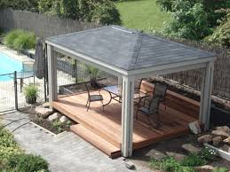 diy pergola kits gazebo kits simple and unique with black stained elegant furniture creative sample style decorate modern