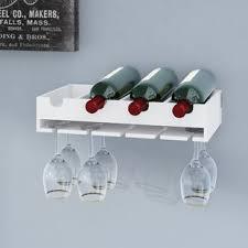 wine bottle storage furniture. Galloway 4 Bottle Laying Wall Mounted Wine Rack Storage Furniture