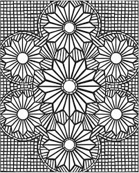 Small Picture Mosaic Coloring Pages For Adults Picture 3 free sample Join fb