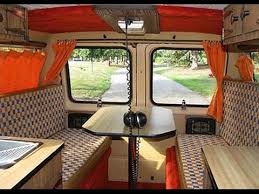 Living In A Van Interior Ideas YouTube Inspiration Van Interior Design Interior
