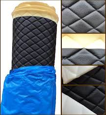 Vinyl Quilted BLACK Fabric w/ 3/8  FOAM BACKING Upholstery & rating ... Adamdwight.com