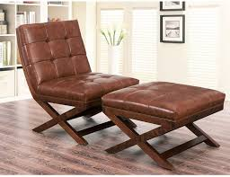 awesome leather armchair with ottoman of brown leather chair and in amusing leather armchair with ottoman