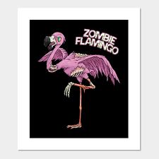 zombie flamingo costume