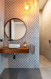 wall tiles design for hall room powder room contemporary with gray and white tile grey and