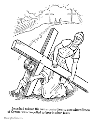 Christian Easter Coloring Pages For Kid 010