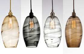 hand blown lighting. Ellisse Hand Blown Glass Lighting By Hammerton Studio N