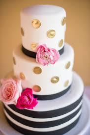 Wedding Cake Modern Designs Unique Wedding Cake Modern Cake Design Gold Polka Dots