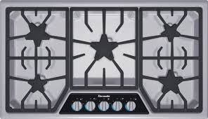 36 Inch Masterpiece® Series Gas Cooktop SGSX365FS  Thermador