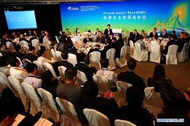 round table meeting held for private sector at boao forum people s daily