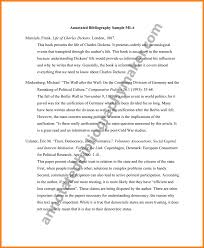 Annotated Bibliography   National History Day        LibGuides at     Annotated Bibliography Of Books Example