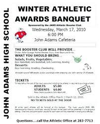 Banquet Program Examples Sports Program Template Danieljamessmith Me