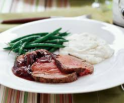 Remove string from tenderloin and discard. Beef Tenderloin Easy Wine Sauce Parents