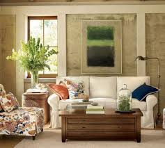 Pottery Barn Living Room Furniture Living Room With Barn Wood Flooring Simple Living Room Pottery