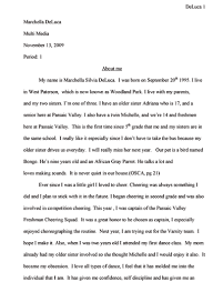 all about me essay example all about me essay example com