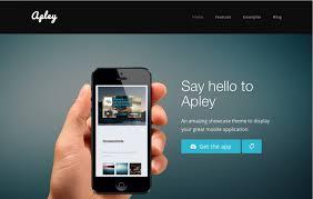 35 Best Mobile App Landing Page Templates | WebDesignerHub