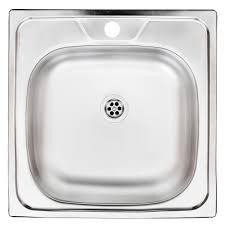<b>Мойка</b> для кухни <b>UKINOX</b> Классика 480x480х155 мм <b>врезная</b> ...