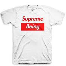 Supreme Being T Shirt Supreme Spoof
