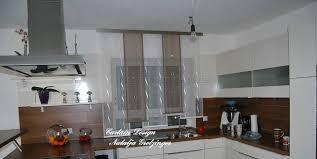 Dezenter Stufen Schiebevorhang Für Die Küche Gardinen Deko