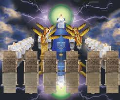 Image result for the 24 elders and the four beasts worshipped the Lord