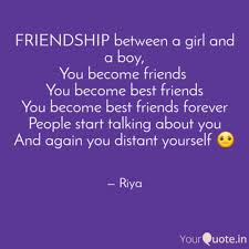 Best Friendship Between Girl And Boy Quotes Friendship Quotes For