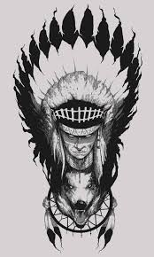 Dream Catchers India Extraordinary Native American Indian Chief Wolf Feather Dream Catcher Drawing