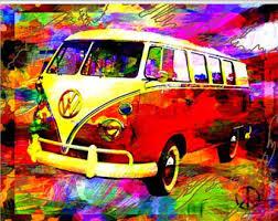 volkswagen van hippie interior. hippie art peace sign vw bus original volkswagen van interior