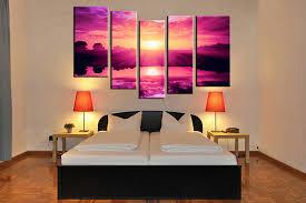 bedroom wall art canvas. Interesting Bedroom Bedroom Decor 5 Piece Canvas Wall Art Ocean Multi Panel Canvas  And Bedroom Wall Art Canvas R