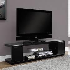 modern tv console. Astin Modern Condo Sized TV Stand - Black Tv Console N
