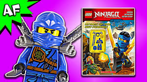 Lego Ninjago Attack of the SKY PIRATES! Activity Book Full Review - YouTube