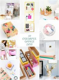 Office diy projects Bed Room 10 Colorful Office Diys Cool Diy Projects Craft Projects Decorative Objects Decorative Accessories Pinterest 10 Colorful Office Diys Best Crafts And Diy Projects Diy Diy