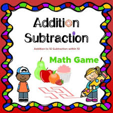 Math Maze Game Addition To 10 Subtraction Within 10 No Prep Tpt