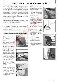 Hoover DYC 8913 BX Çamaşır Kurutma Makinası - Kullanma Kılavuzu - Sayfa:5 -  ekilavuz.com
