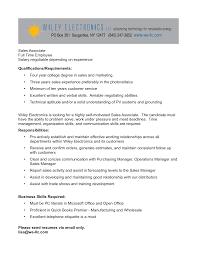 Retail Job Description Resume Sales Associate Job Description Resume Resume Badak 35