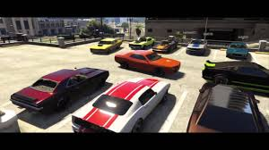 Gta Online Muscle Car Meet Pt Car Show Cruising Drag