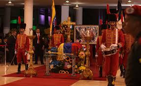 Homenaje al presidente Chávez