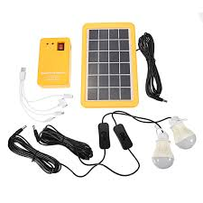 Solar Home Light Set Us 29 09 35 Off Smuxi 1 Set Solar Power Panel Generator Led Light Bulbs 5v Usb Charger Home System Outdoor Garden Solar Lamps In Solar Lamps From