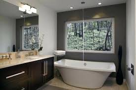freestanding tub in small bathroom free standing tub shower combo doubtful unique bathroom ideas home interior