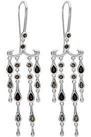 women earrings modern vintage chandelier sterling earrings