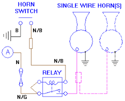 installing aftermarket horns horn circuit relay