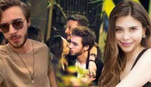 Oyuncu Dilara Aksüyek ve Onur Bay aşkı belgelendi! Sevgilisini öpücüklere  boğdu...