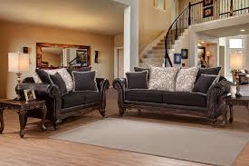 Serta Living Room Furniture Serta Soprano Ebony Sienna Sofa And Loveseat Living Room Sets