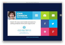 Free Resume Theme Wordpress Wordpress Resume Theme Resumes Premium Layers Vcard Nulled 75