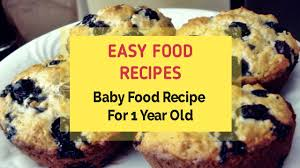 baby food recipe for 1 year old