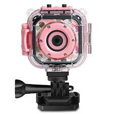 Buy PROGRACE Children <b>Kids Camera Waterproof</b> Digital Video ...