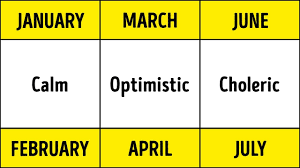 Birth Month And Disease Chart Scientists Prove Your Birth Month Defines Your Health And Personality